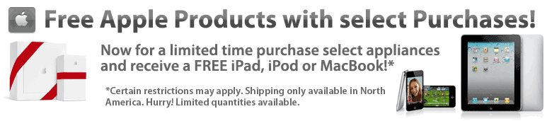 iPad 2 Free with Select Purchases!